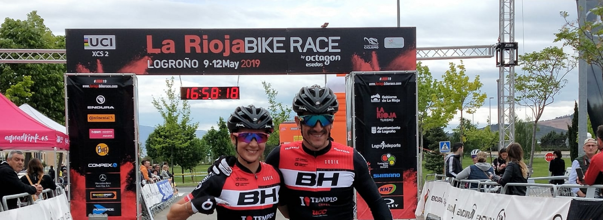 Carlos Coloma and Rocío del Alba García take command in the first stage